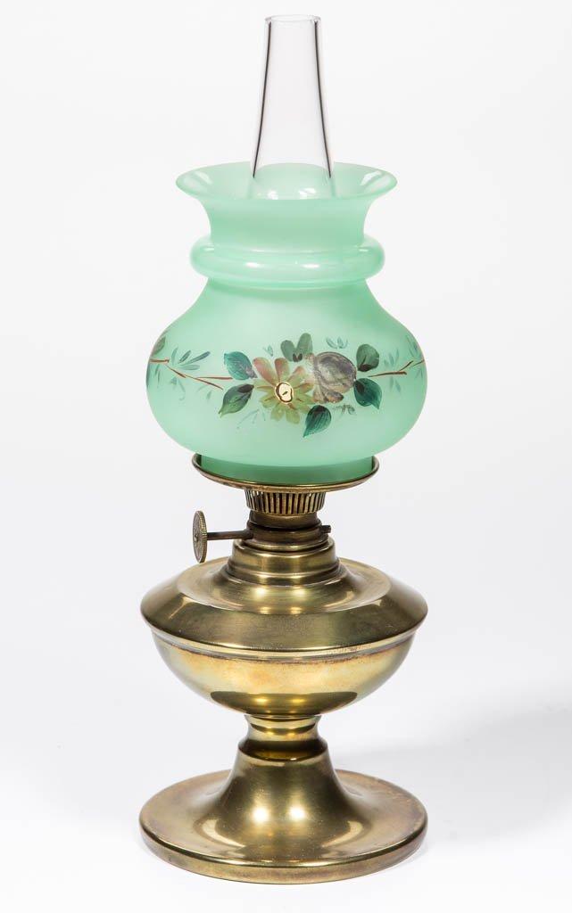 BRASS MINIATURE STAND LAMP