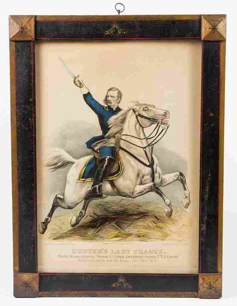 CURRIER & IVES AMERICAN HISTORICAL PRINT