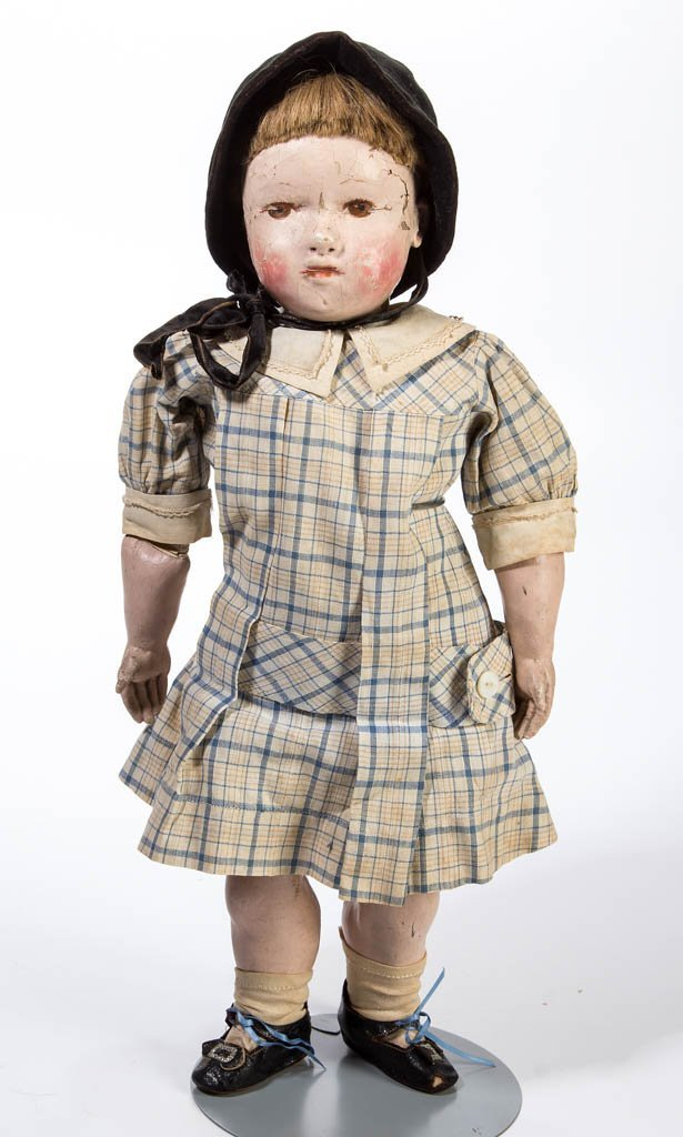 VINTAGE WELLINGS-TYPE COMPOSITION DOLL