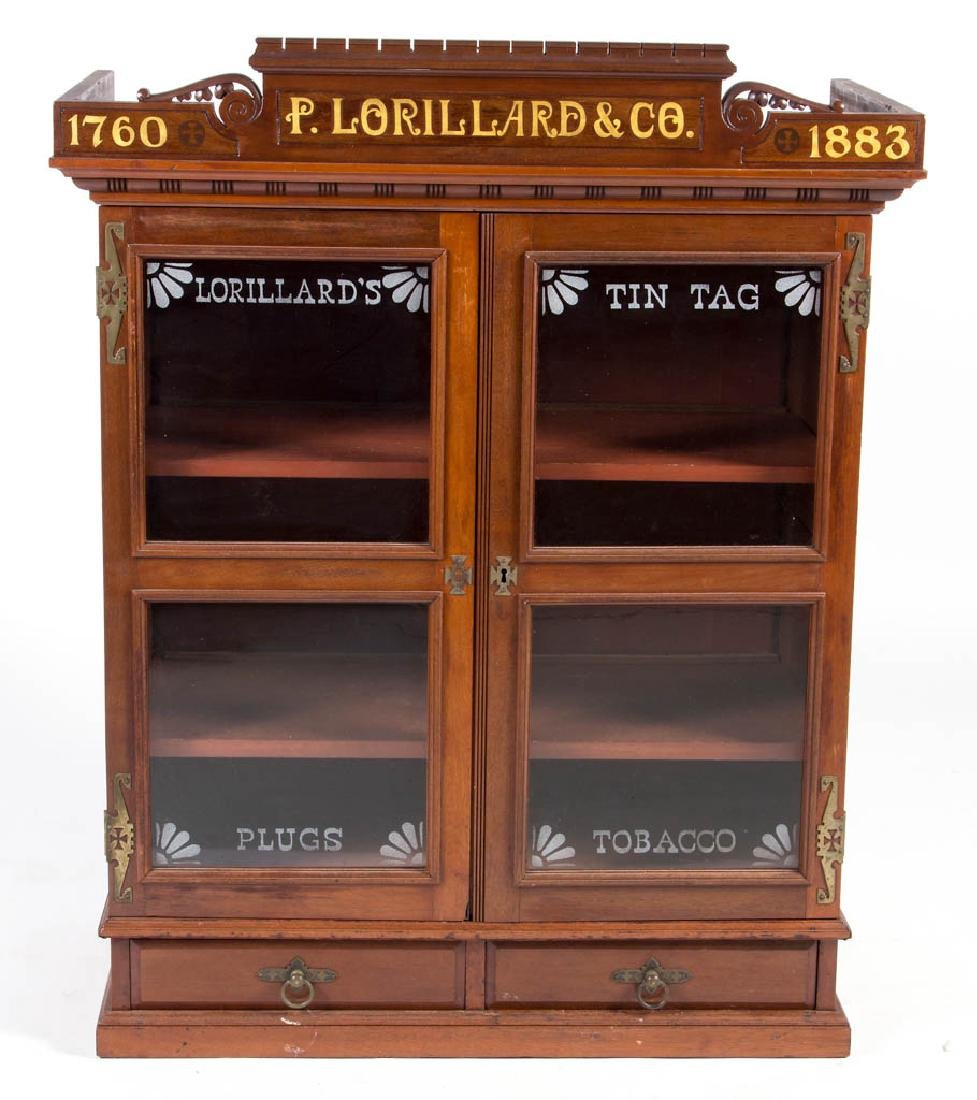P. LORILLARD & CO. TOBACCO COUNTRY STORE DISPLAY