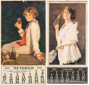 Coca-Cola Calendars: Two Examples from the 1920s,
