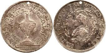 (1800) Washington Funeral Urn Medal in Silver