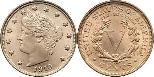 1910 Liberty Nickel