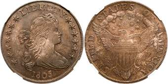 1803 Draped Bust Dollar