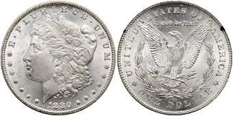 1880/79-CC Morgan Dollar. Reverse of 1878