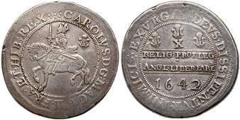 Great Britain. Shrewsbury Half Pound, 1642