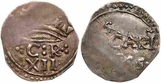 Great Britain. Carlisle Shilling, 1645