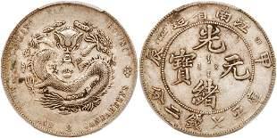 Chinese Provinces: Kiangnan. Dollar, CD1904.