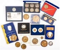John F. Kennedy Collection: 42+ Commemorative Medals