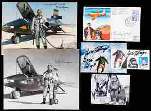Test Pilots: Chuck Yeager (Scarce Signed & Flown Cover)