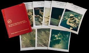 Gemini 4 Vintage Photos Includes Ed White's Spacewalk
