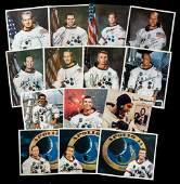 14 Apollo Astronaut White Space Suit Photos Including