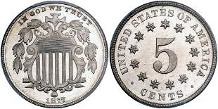 1877 Shield Nickel