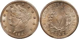 1885 Liberty Nickel