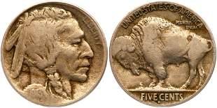 1913-D Buffalo Nickel. Type 2