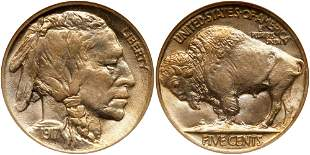 1917 Buffalo Nickel