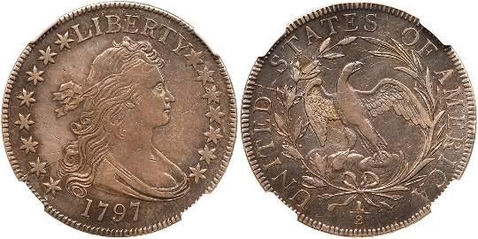 1797 Draped Bust Half Dollar