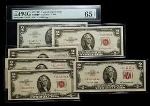 1953-B, $2 Legal Tender Note