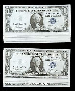 1935-B, $1 Silver Certificate