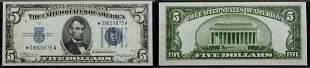 1934-A, $5 Silver Certificate