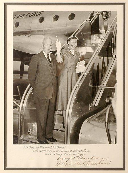 13: Eisenhower, Dwight D. & Mamie Doud Eisenhower