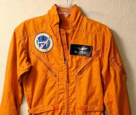 401: Apollo Program, c1965 Orange NASA Flight Suit