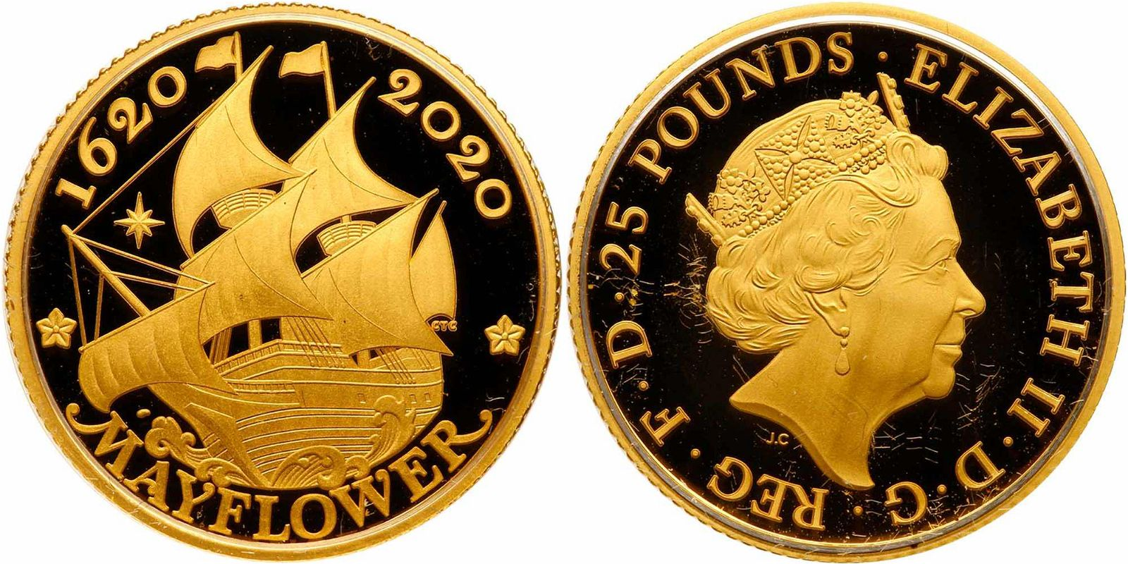 Great Britain/ United States. 400th Anniversary of the