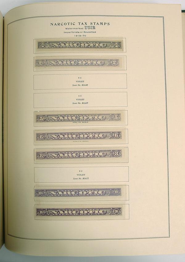 5: Revenues, 1862//1960, Mint Collection