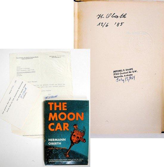 1019: Rockets, 1959//1969, Hermann Oberth Autographs