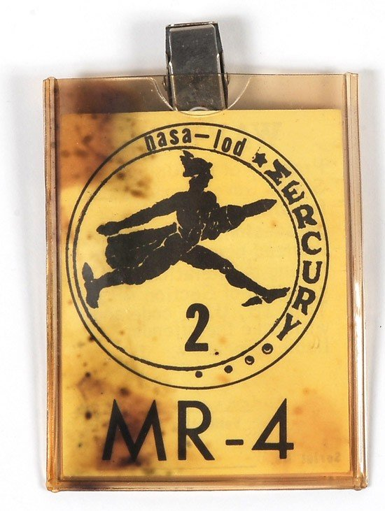 1027: MR-4, 1961, Access Badge