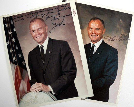 1029: MA-6, 1962, John Glenn Autograph