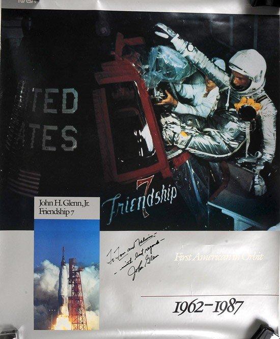 1031: MA-6, 1962, John Glenn Autograph