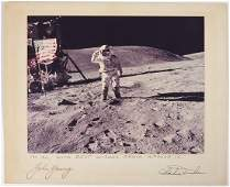 1274: Apollo 16, 1971, John Young and Charlie Duke Auto