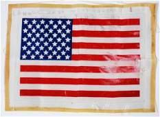 1276 Apollo 16 1972 Beta Cloth US Flag