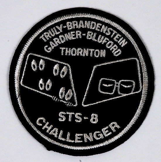 1449: STS-8, 1983, Unofficial Crew Patch