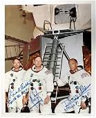464: Apollo 11, 1969, Crew-Signed NASA Lithograph