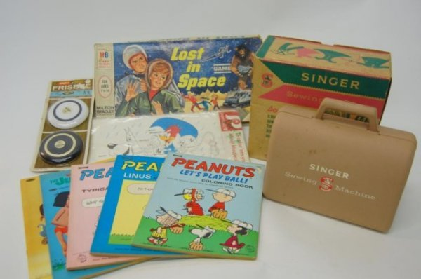 4: 1960's Game, toys, Coloring Books