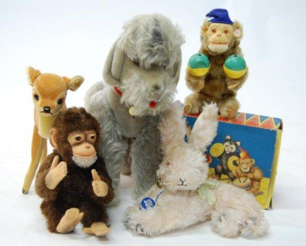 12: Vintage Stuffed Animals