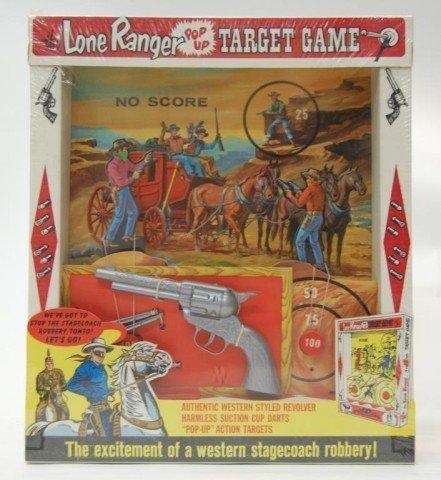 14: 1966 Lone Ranger Target Game- Original Packaging