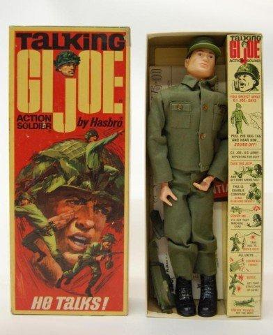 15: 1960s Talking GI Joe with original box, papers