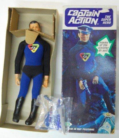 18: 1967 Captain Action, in original box