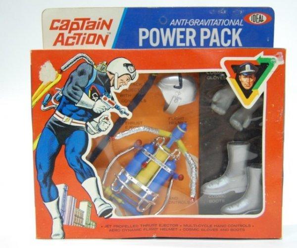 21: 1967 Captain Action Anti Gravity Power Pack NIB