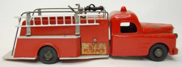 23: Structo Toy Firetruck SFD Pumper