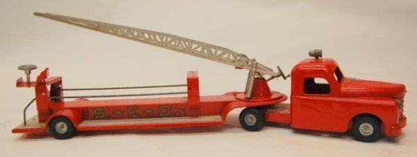 24: Structo Toy Fire Truck Ladder SFD
