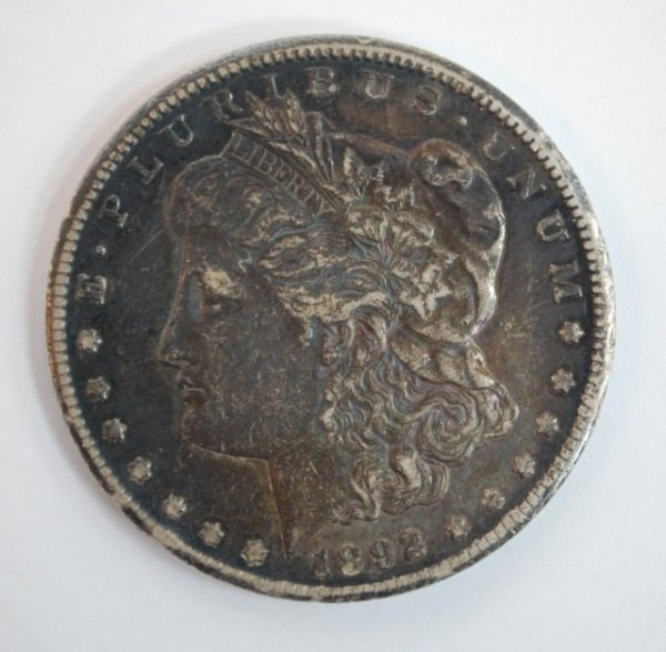 15: Desirable 1892 Carson City Morgan Silver Dollar