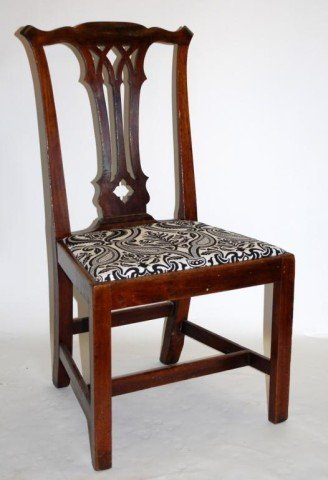 1. Ca.1775 Chippendale Side Chair - Philadelphia