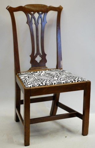 4. Ca. 1775 Chippendale Side Chair  Philadelphia