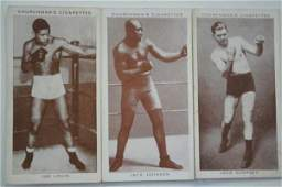 56 1938 Churchman  Boxing Personalities Tobacco Cards