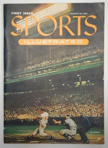 1: Sports Illustrated First Issue, 1954  No 1  Vol 1