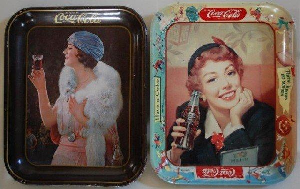 3: Coca Cola Trays